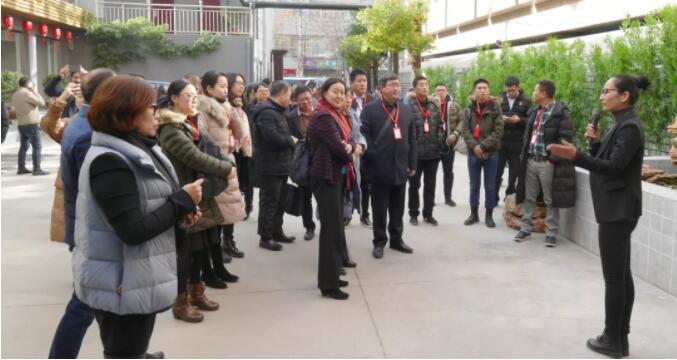 京津冀文化产业园区建设研讨会参访团到访冀台联青创园
