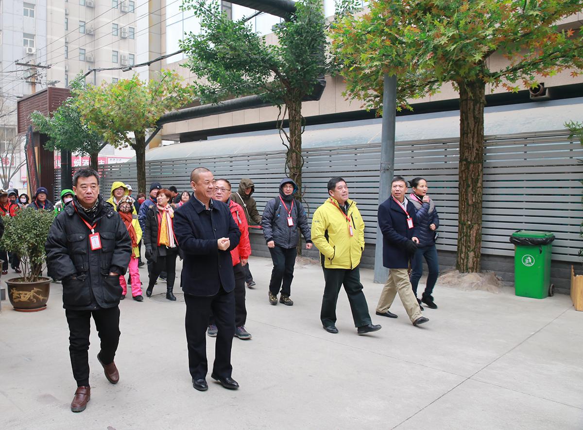 台湾宜兰县体育参访团到访冀台联青年文化创业园